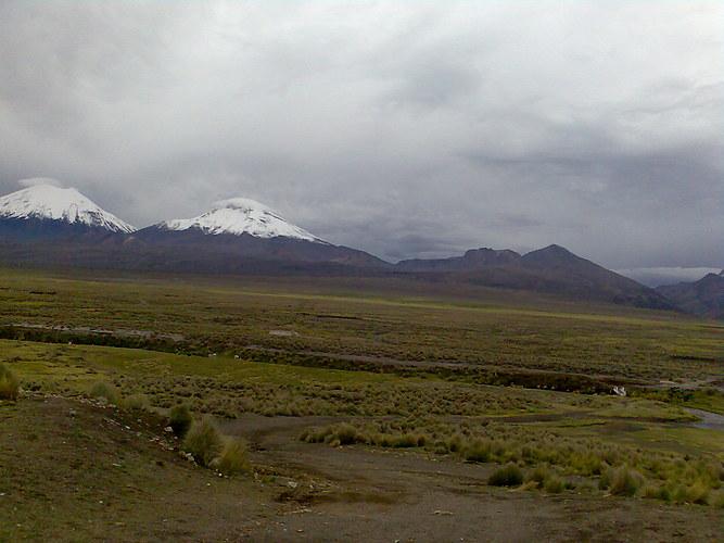 Los Volcanes Gemelos Historia:Aunque no hacía un buen día, el ...