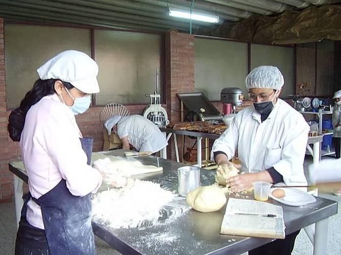 Actividades en el curso de Panadería