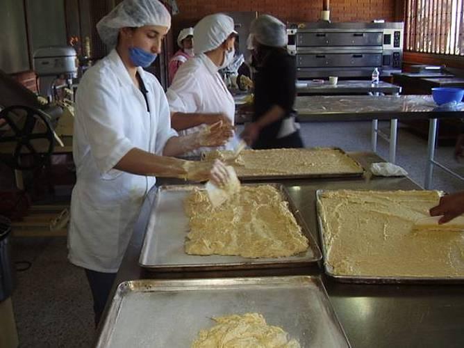 Actividades en el curso de Pastelería