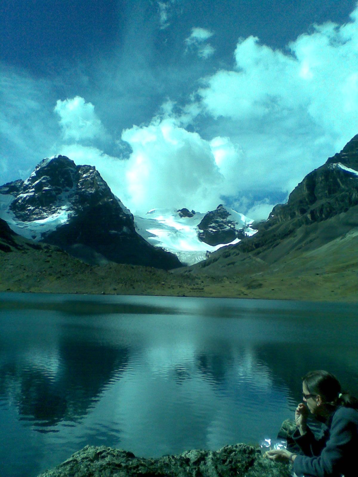 Efectos en el Condoriri Historia:Es el lago que está en la base del ...