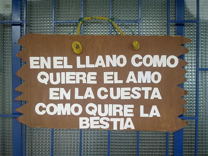 Dichos del Llano La Cultura Llanera es rica en dichos y frases ...